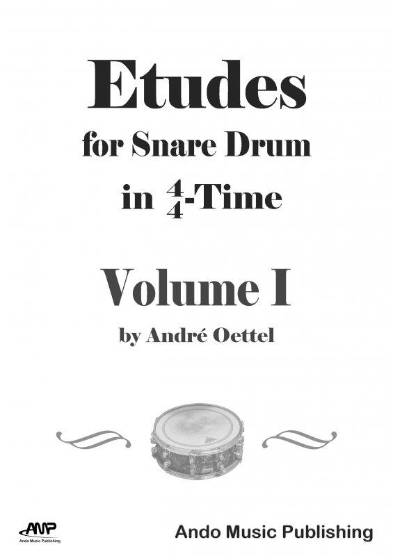 Etüden für Snare-Drum im 4/4-Takt Band 1