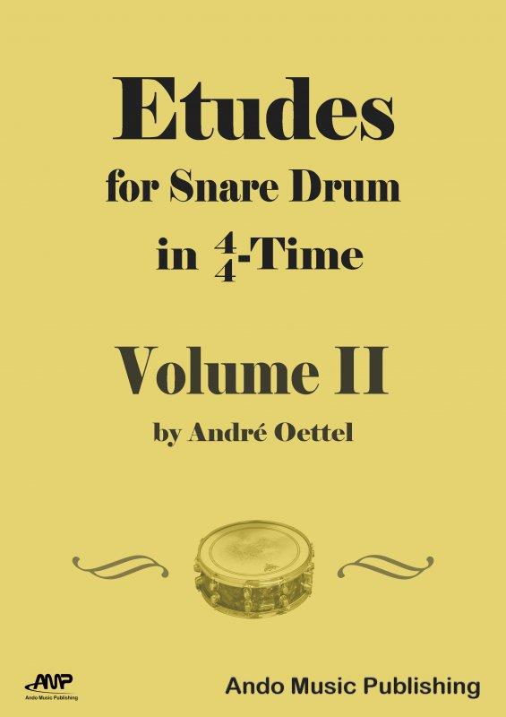 Etüden für Snare-Drum im 4/4 Takt Band 2