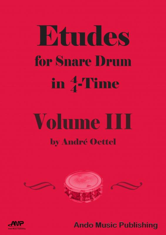 Etüden für Snare-Drum im 4/4 Takt Band 3