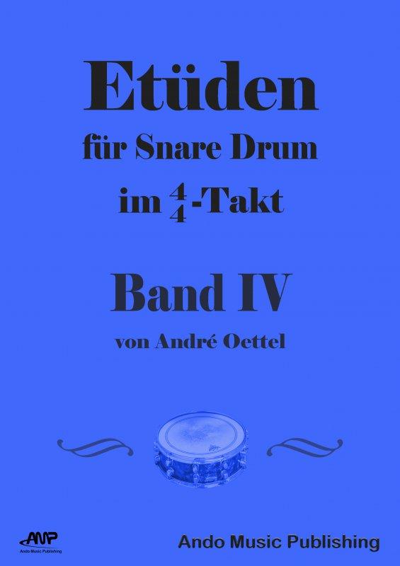 Etüden Für Snare-Drum im 4/4 Takt Band 4