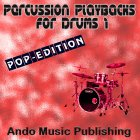 Percussion Playbacks for Drums 1 - Pop Edition