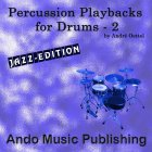 Percussion Playbacks for Drums 2 -Jazz Edition